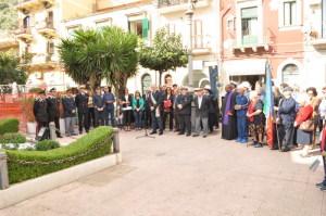 La Cerimonia in Piazza Municipio