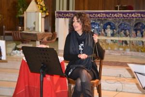 La cantautrice Oriana Civile