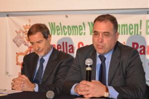 L'On. Musumeci e il prof. Caroniti