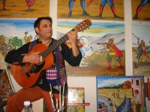 Il cantautore Rosario Todaro in una foto di qualche anno fà