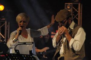 Maria Russell e Mel Vizzi