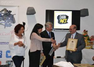 Premiazione dello scrittore Francesco  Sciuto
