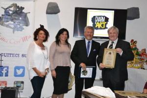 Premiazione dell'Editore MaranzAtomo Antonio  Magrì