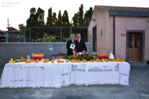 Pino Parisi con il barman Salvatore Ferrara ed i suoi cocktails