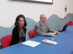Il prof. Sattello e la prof. Liuzzo
