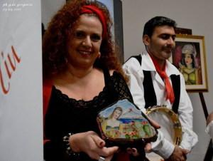 La premiazione della cantante Giusy Schilirò