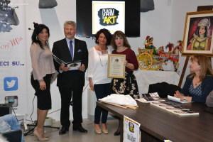 Premiazione della scrittice R Schillaci