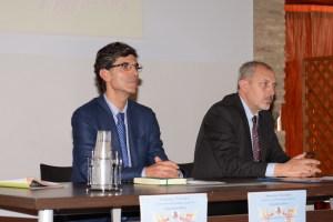 Il dott. Pino Mento e il dott. Giuseppe Turiano
