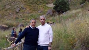 Il prof. Angelo Manitta con il prof. Giuseppe Carmeni