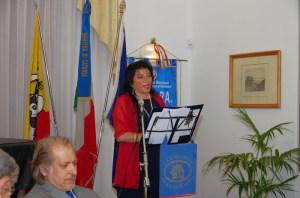 La recita della lirica della poetessa Giusy Di Mauro