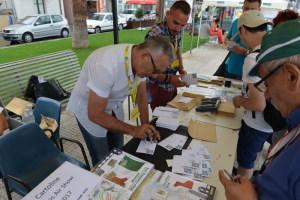 L'annullo Postale che celebra l'evento a cura delle Poste Italiane
