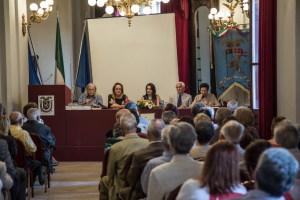 La presentazione del libro al Palazzo dei Leoni