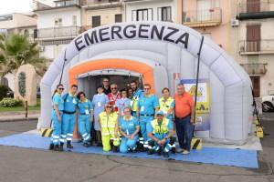 Il punto emergenza medica sul lungomare Tisandros