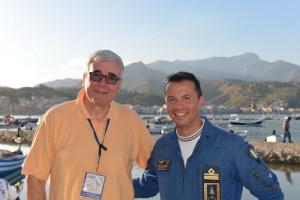 Il direttore diSicilia Felix Rosario Messina assieme al Comandante della PAN Mirco