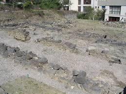 Le rampe di alaggio nell'area archeologica dei Neoria di Naxos
