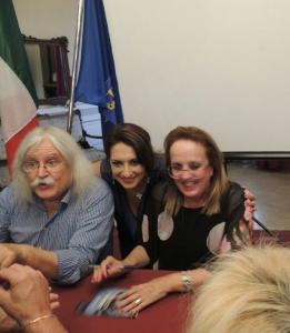 Armando Siciliano, Silvana Paratore e