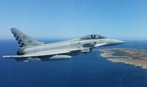 Eurofighter del 37° Stormo di Trapani in volo per la sicurezza del G7