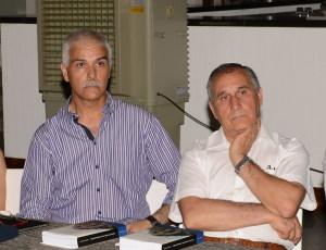 Da sin. Giuseppe Carmeni e Angelo Manitta