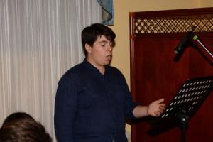 Il giovane tenore Antonio Currenti