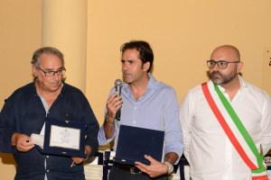 Armando Melita e Francesco Lo Giudice con il Sindaco di Graniti
