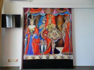 Una delle scene dipinte da Valentina