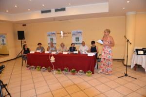 Angela Lombardo introduce i relatori
