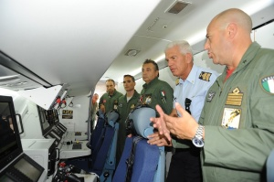 Visita al velivolo P-72A