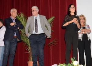 Al centro il direttore di Sicilia Felix Messina Rosario