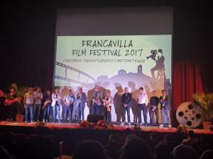 La foto di gruppo con i premiati e la giuria