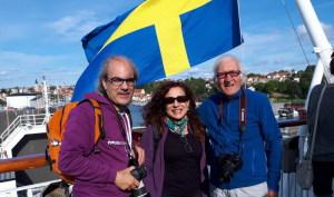 Sul traghetto per la Svezia