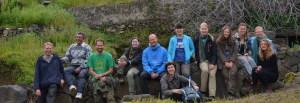 Il team internazionale di archeologi