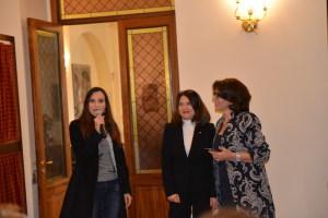 Le delegate di Siracusa che hanno portato il messaggio di Mila Caldarella la presidente del Comitato della provincia di Siracusa