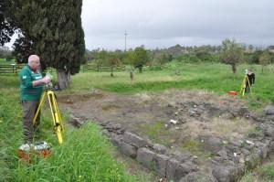 Lavori di scavo a Naxos