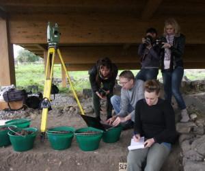 Il team di archeologi a lavoro a Naxos