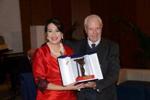 La consegna del prestigioso premio