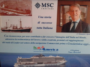 Locandina MSC