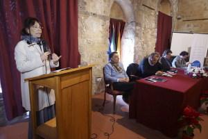 L'intervento della direttrice del Parco  Archeologico di Naxos