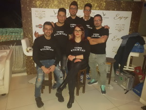 I parrucchieri che hanno partecipato alla manifestazione di Taormina
