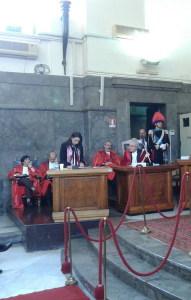L'intervento dell'Avv. Silvana Paratore in rappresentanza di Cittadinanza Attiva
