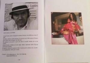 Alcune pagine del libro con Maria Letizia Somma