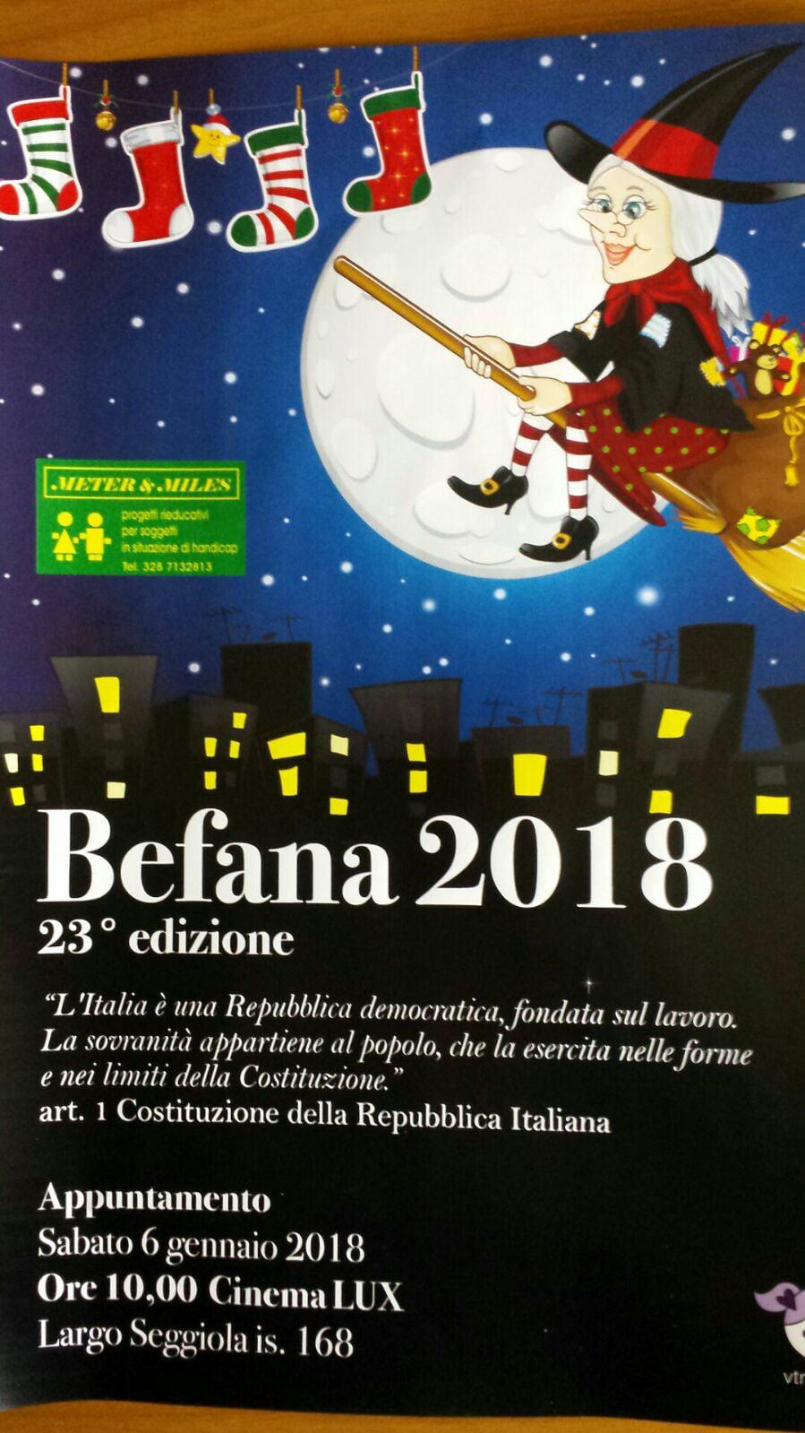 A Messina Il Sei Gennaio Il Tradizionale Appuntamento Con La Befana