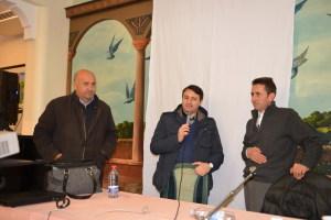 Il Sindaco Foti, Don Luciano e Padre Zappia