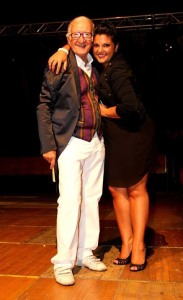 Il Maestro Nino Buda e la cantante Giovanna D'Angi