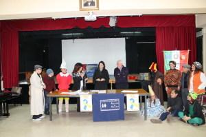 Il tavolo dei relatori. Al centro l'avv. Silvana Paratore