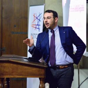 Il giornalista Paolo Borrometi