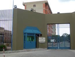L'ingresso del carcere di Augusta