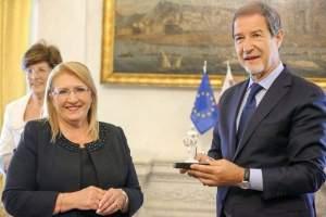 Assieme al Presidente della Regione Siciliana Nello Musumeci