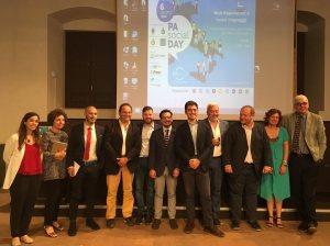 I relatori del convegno di Catania