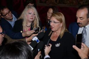 La Presidente di Malta risponde alle domande dei giornalisti