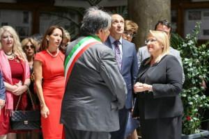 Il Benvenuto di Leoluca Orlando SIndaco di Palermo